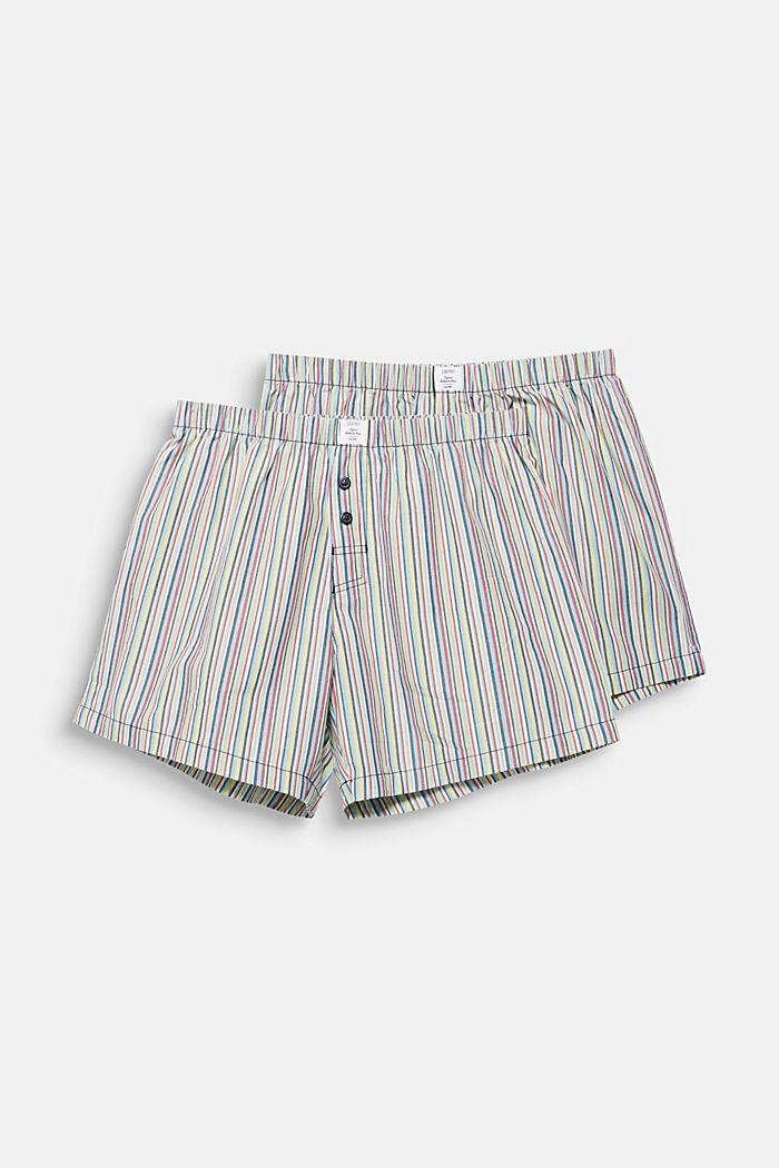 Im 2er-Pack: Shorts aus 100% Baumwolle