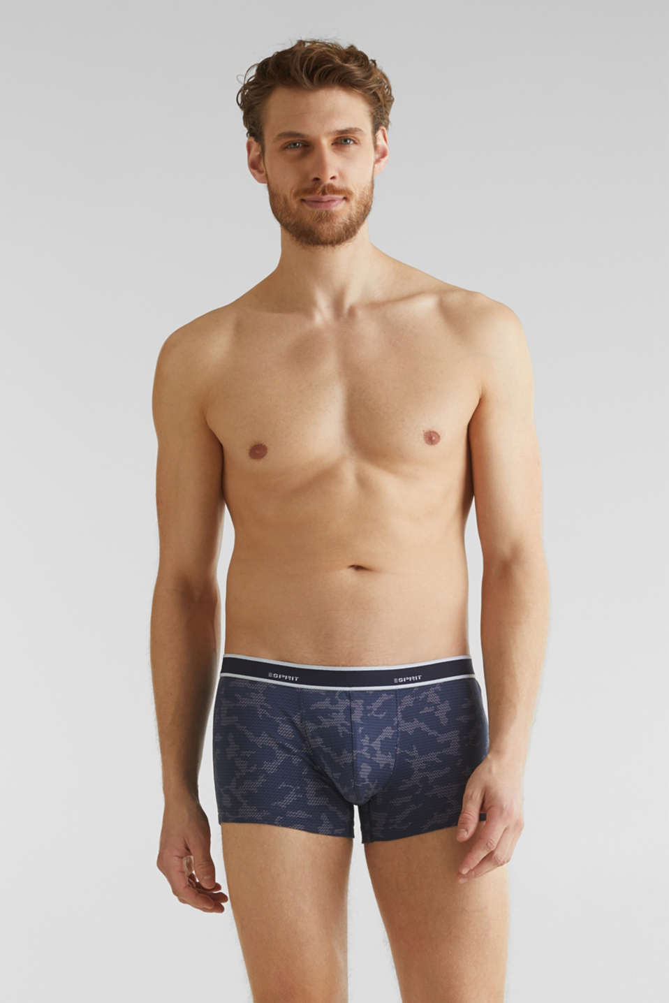 Esprit - In a triple pack: Hipster shorts