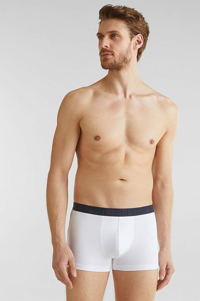 Im 3er-Pack: Shorts aus Jersey-Stretch