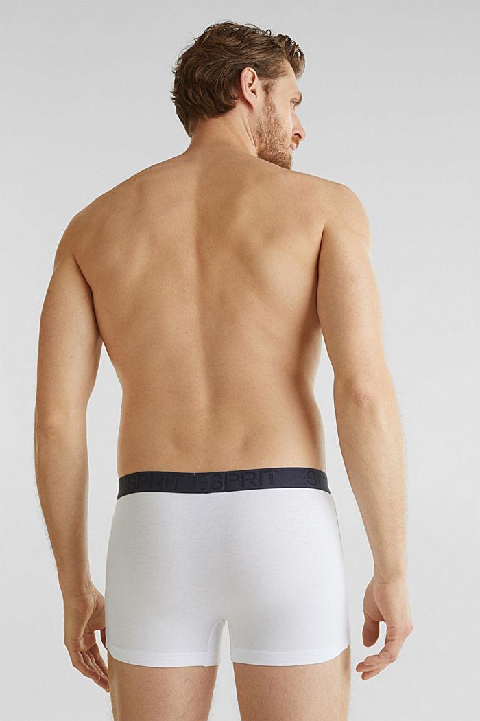 Set van 3 stuks: shorts van jersey-stretch, WHITE/BLUE, detail image number 1