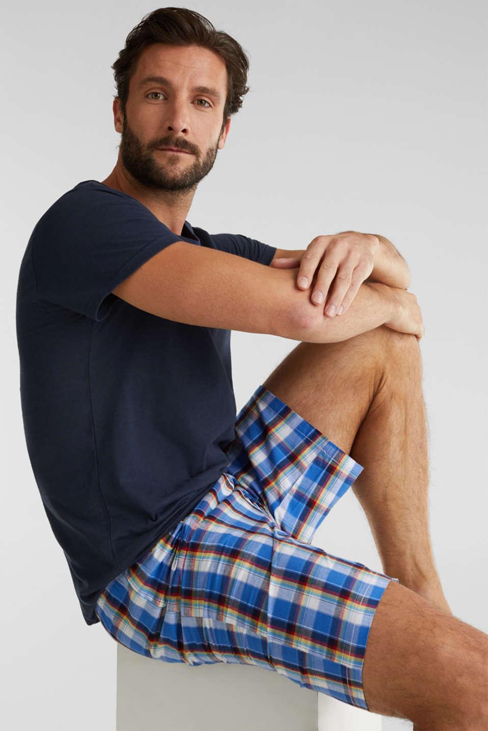 Jersey and fabric pyjamas, NAVY 2, detail image number 0