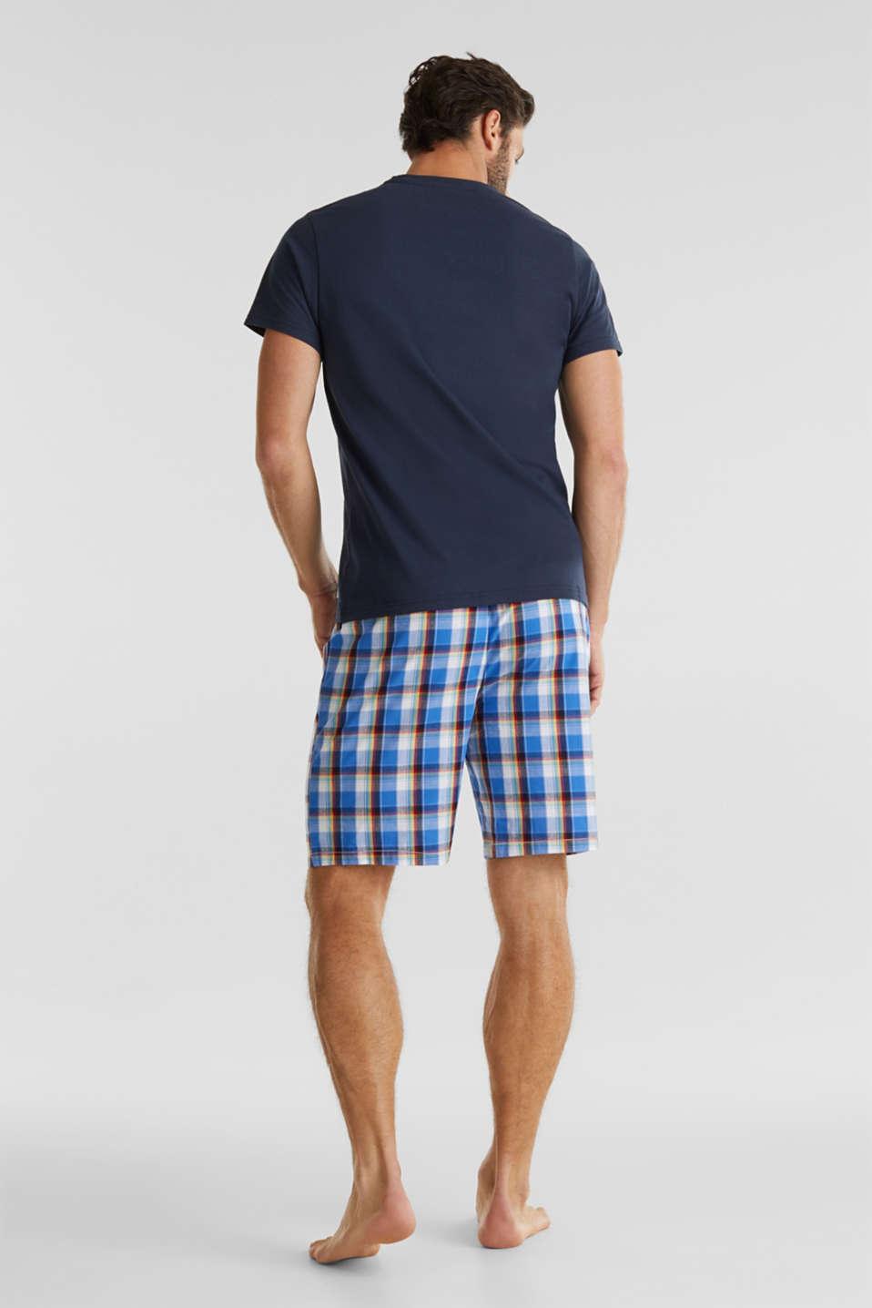 Jersey and fabric pyjamas, NAVY 2, detail image number 1