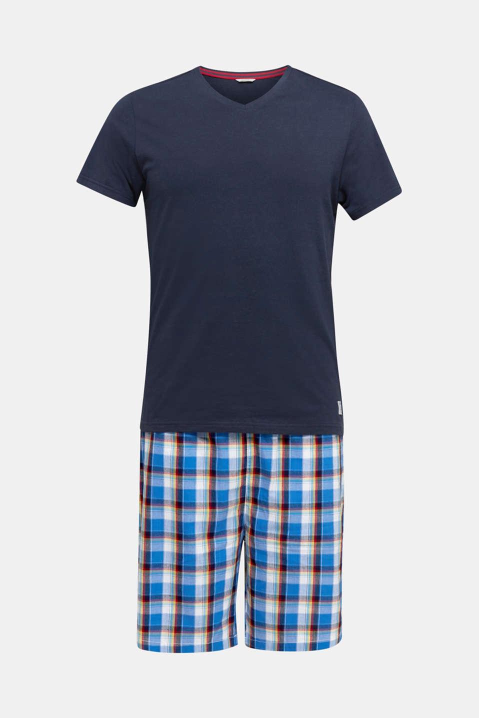 Jersey and fabric pyjamas, NAVY 2, detail image number 3
