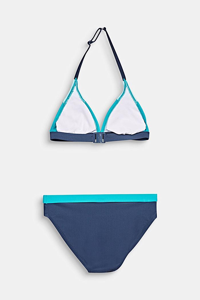 Wattierter Neckholder-Bikini
