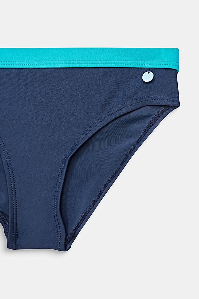 Padded halterneck bikini, TURQUOISE, detail image number 2