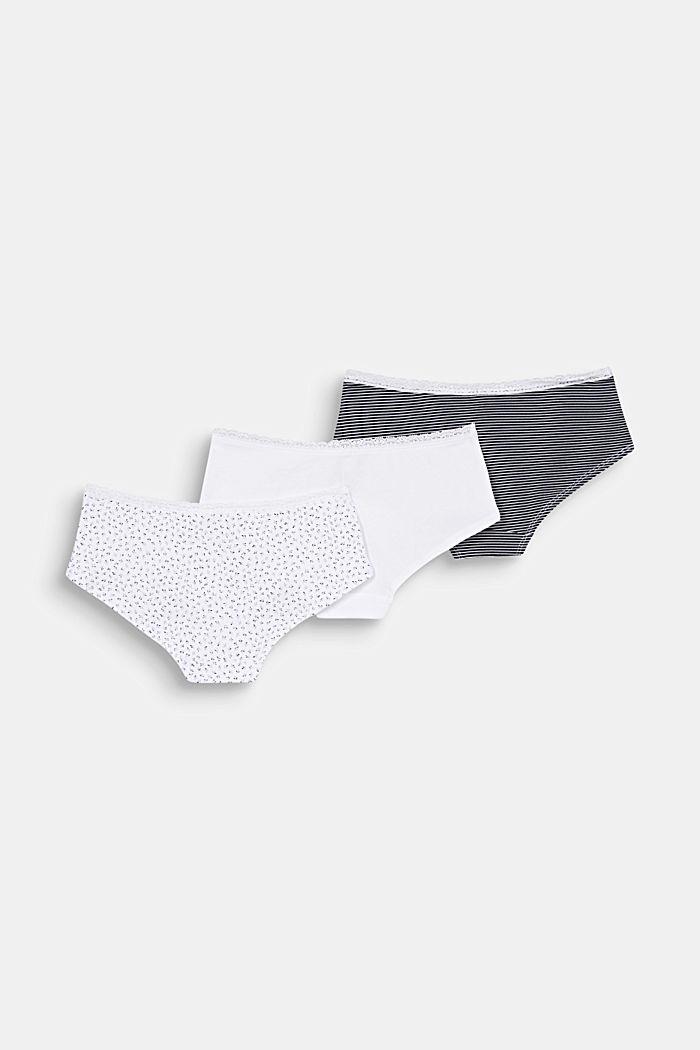 3er-Pack Shorts mit Bio-Baumwolle