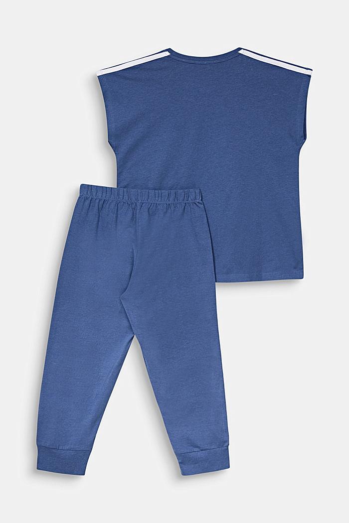 Jersey-Pyjama aus 100% Baumwolle
