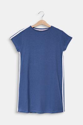 Jersey nightshirt in 100% cotton, NAVY 2, detail