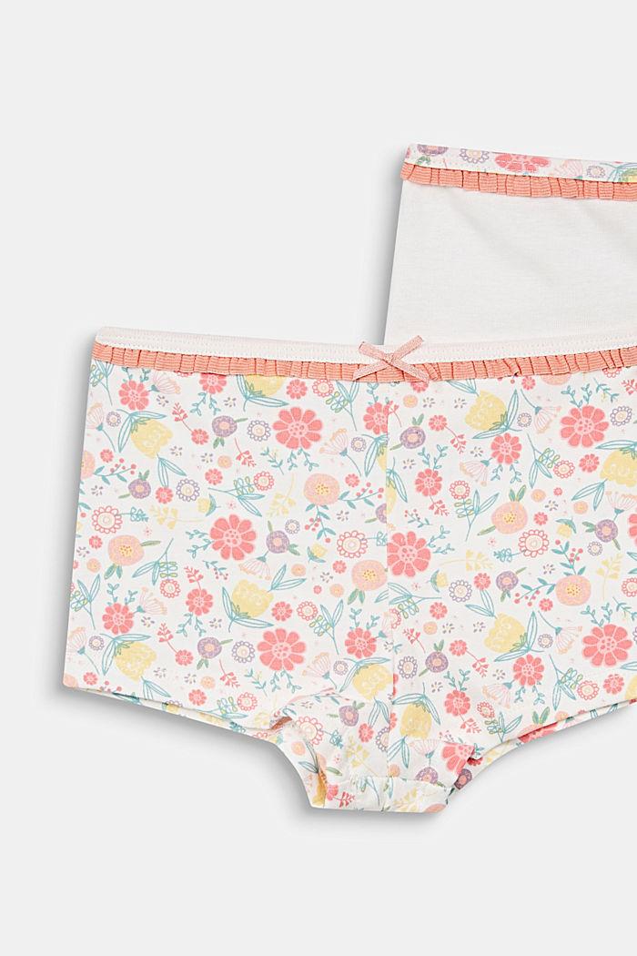 2er-Pack Shorts, einfarbig oder mit Print, OFF WHITE, detail image number 1