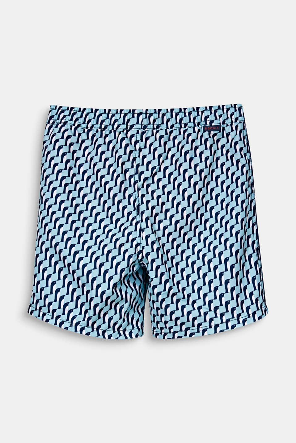 Quick-drying swim trunks, LIGHT AQUA GREEN, detail image number 1