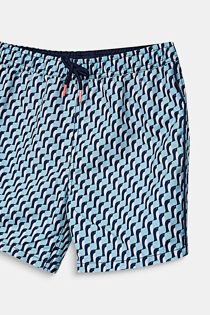 Schnell trocknende Badeshorts, LIGHT AQUA GREEN, detail image number 2