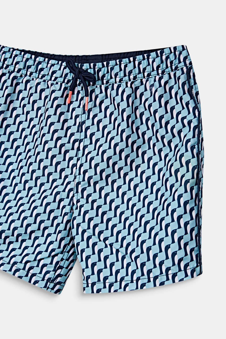 Quick-drying swim trunks, LIGHT AQUA GREEN, detail image number 2