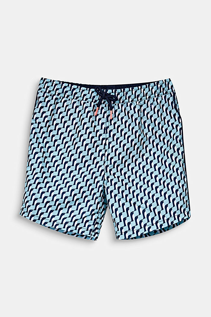 Schnell trocknende Badeshorts, LIGHT AQUA GREEN, detail image number 0