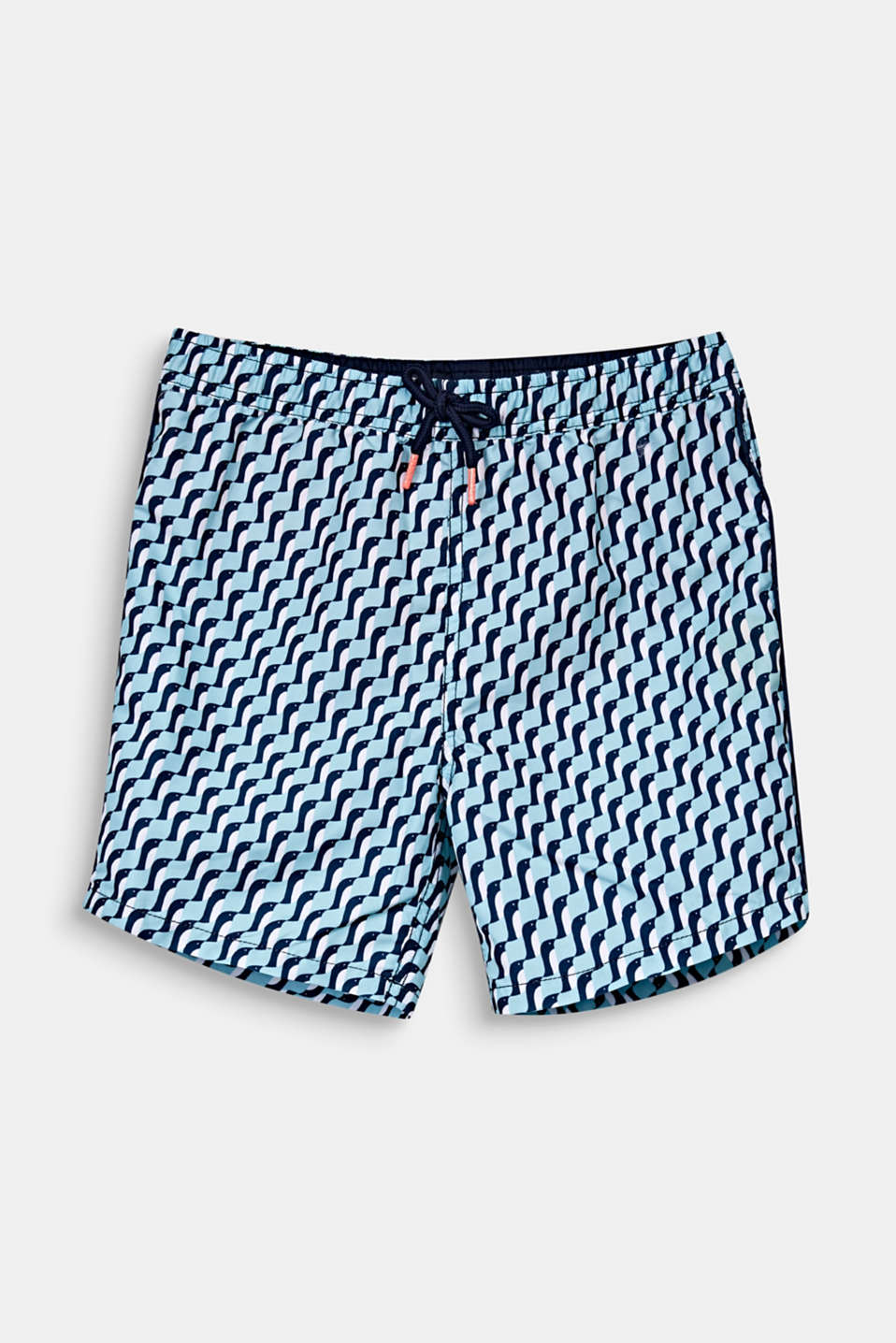 Quick-drying swim trunks, LIGHT AQUA GREEN, detail image number 0