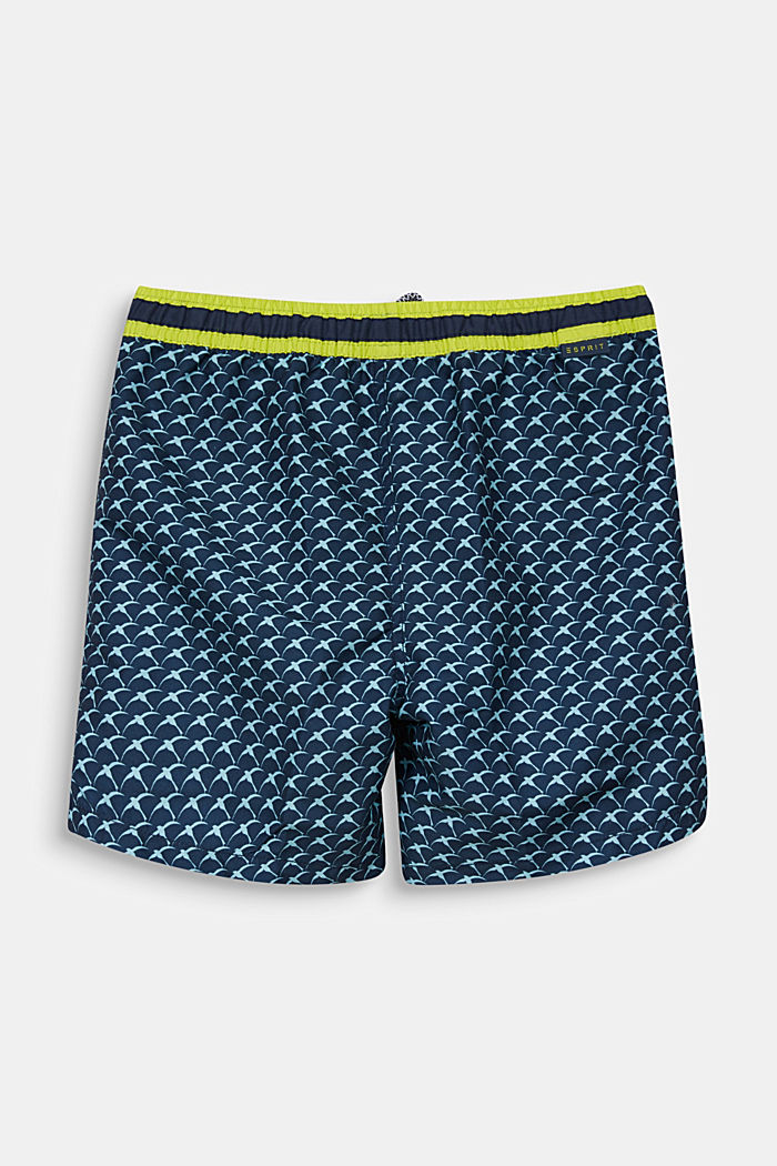 Quick-drying swim trunks, NAVY, detail image number 1