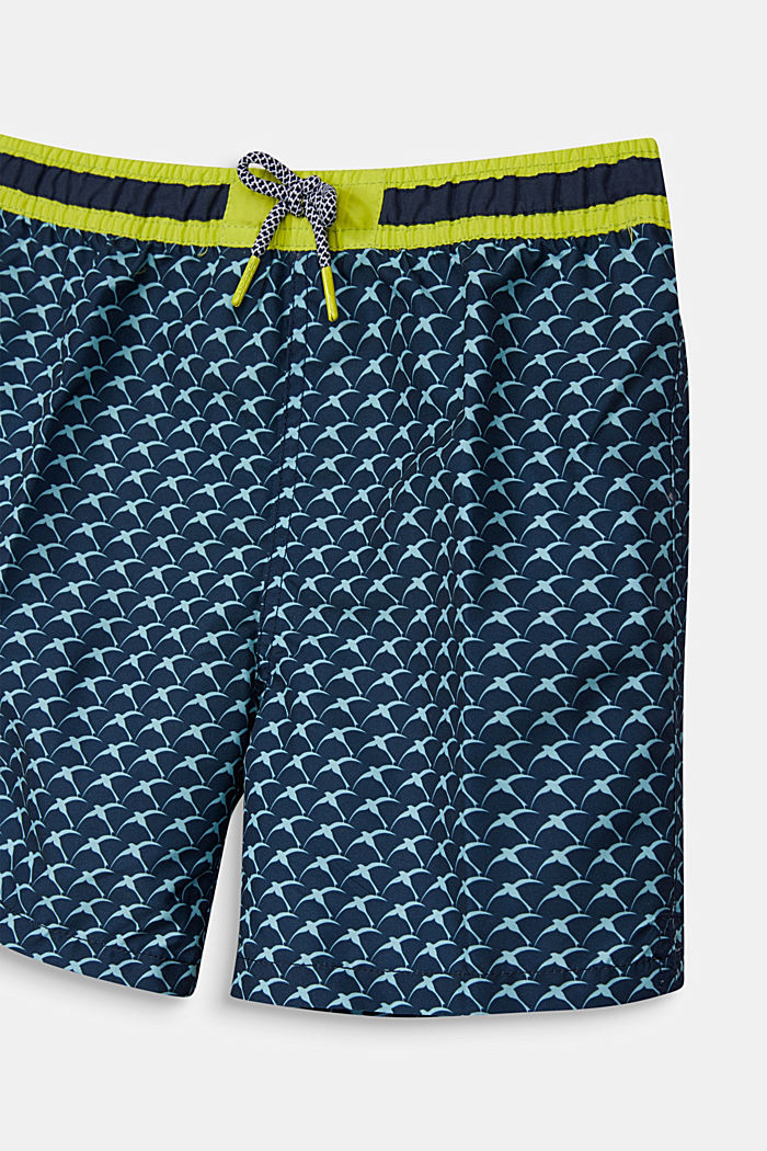 Quick-drying swim trunks, NAVY, detail image number 2