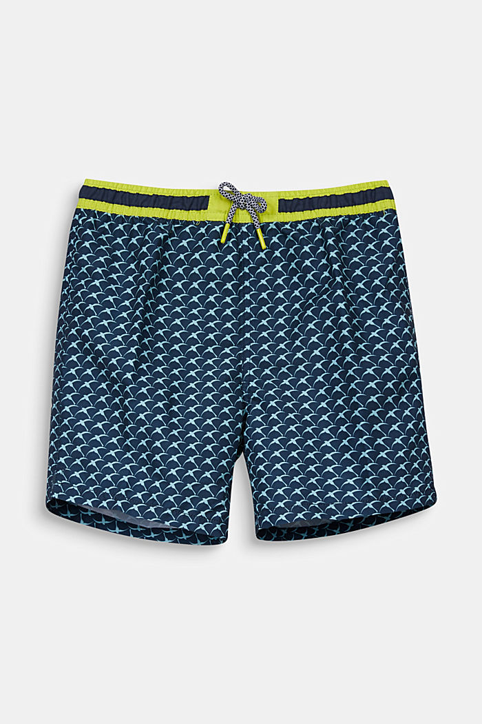 Quick-drying swim trunks, NAVY, detail image number 0