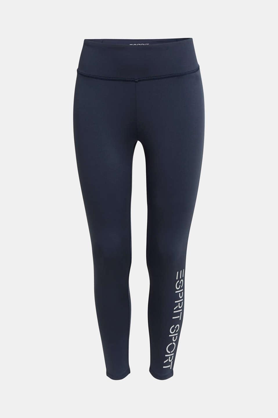 Compression leggings, E-DRY, NAVY 2, detail image number 5