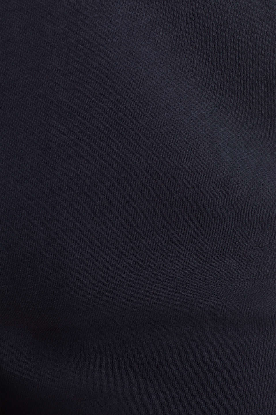 Sweatshirt fabric shorts with contrasts, NAVY 2, detail image number 2