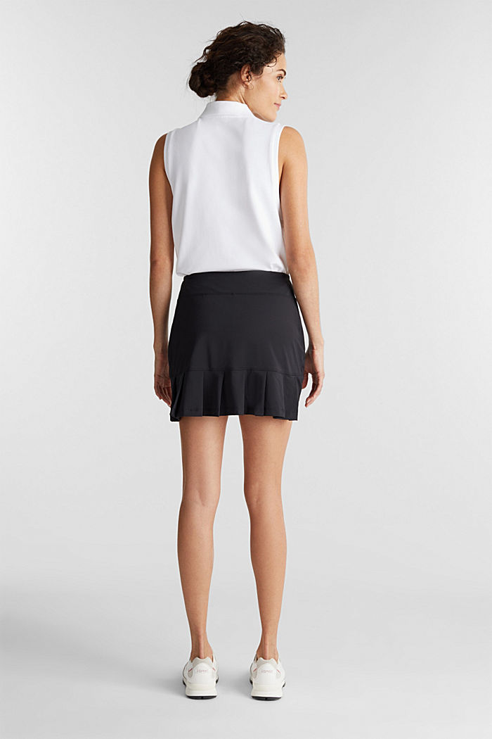 2-in-1: tennis skorts with an adjustable waistband and edry, BLACK, detail image number 3