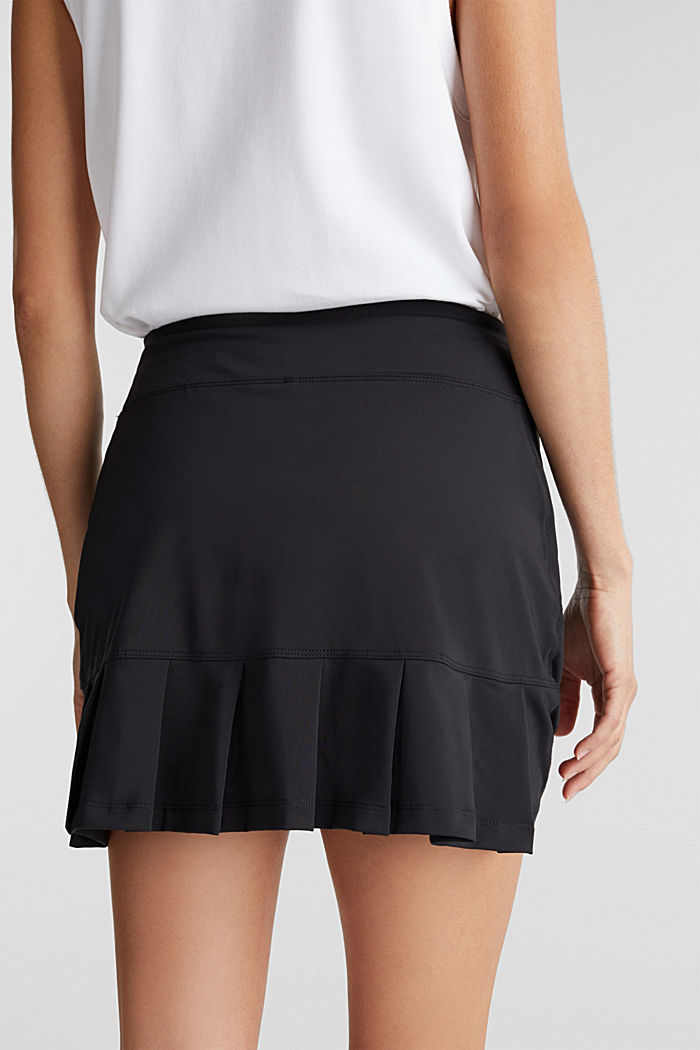 2-in-1: tennis skorts with an adjustable waistband and edry, BLACK, detail image number 2