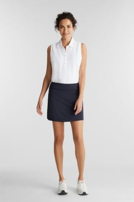 2-in-1: tennis skorts with an adjustable waistband and edry, NAVY 2, detail