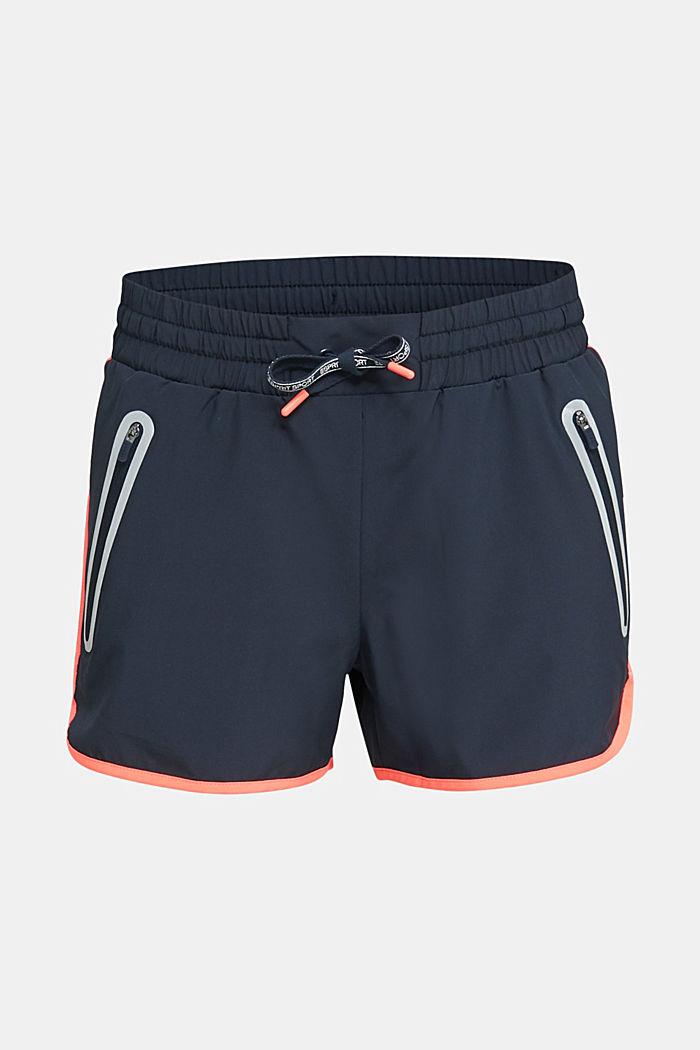 Shorts mit leuchtenden Blenden, E-DRY