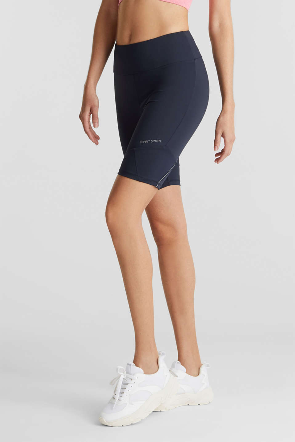 Esprit - E-DRY leggings with mesh details