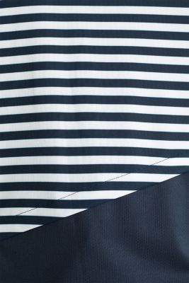 Jersey top with stripes, E-DRY, NAVY 4, detail