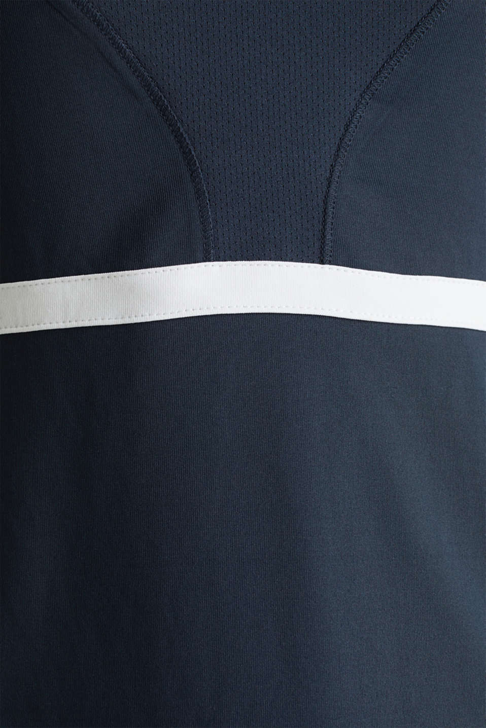 2-in-1 top with bustier, E-DRY, NAVY 2, detail image number 2