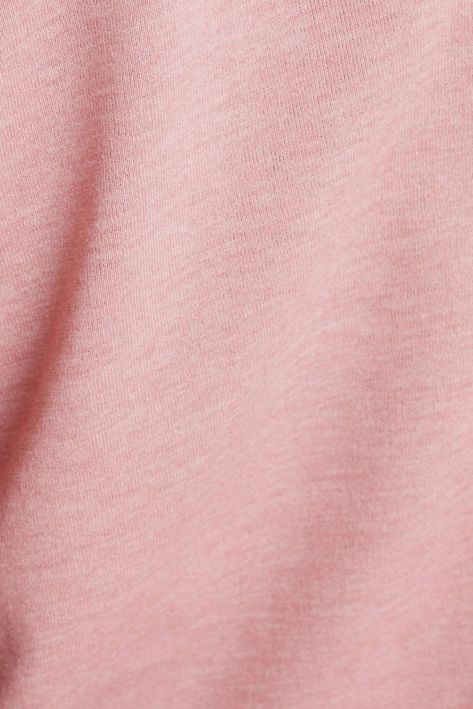 Print top with mesh back, OLD PINK 2, detail image number 3