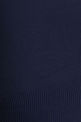 Seamless sports bra, E-DRY, NAVY 2, detail