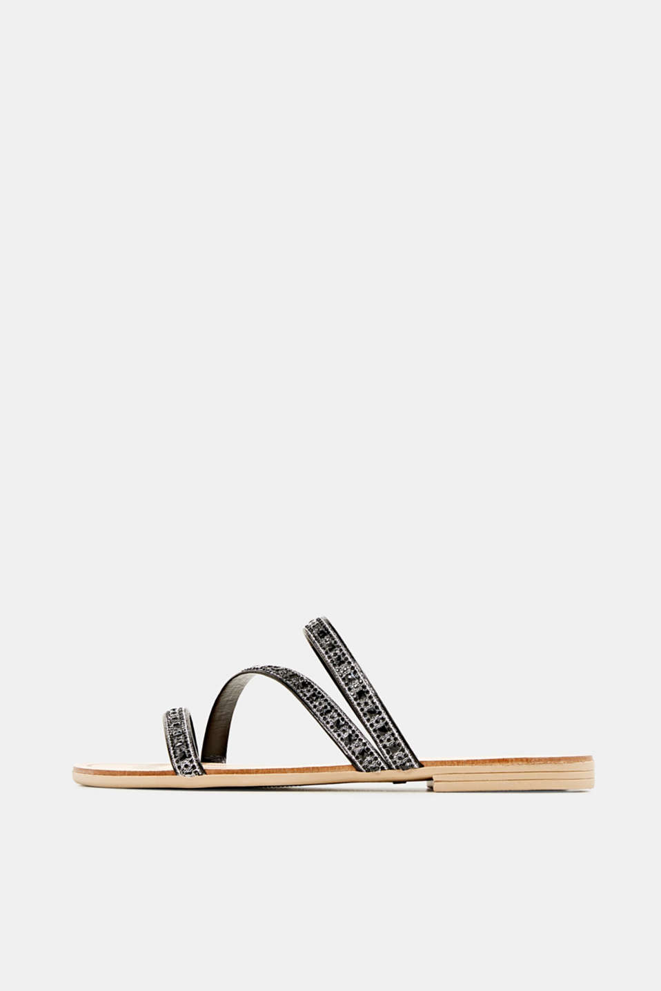 Esprit - Sandals with glittery straps
