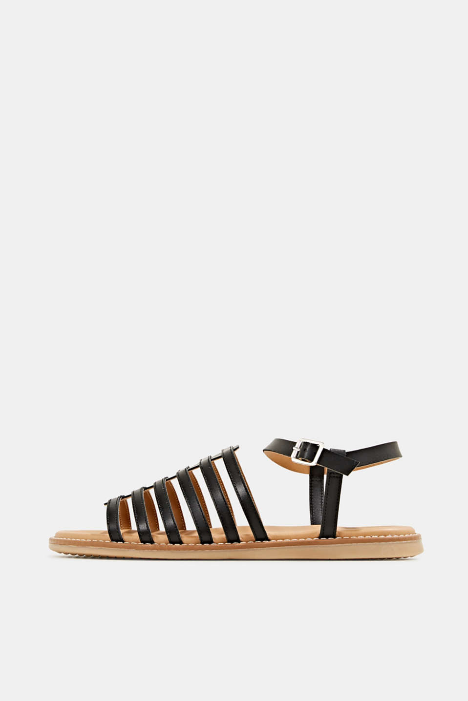 Esprit - Strappy leather sandals