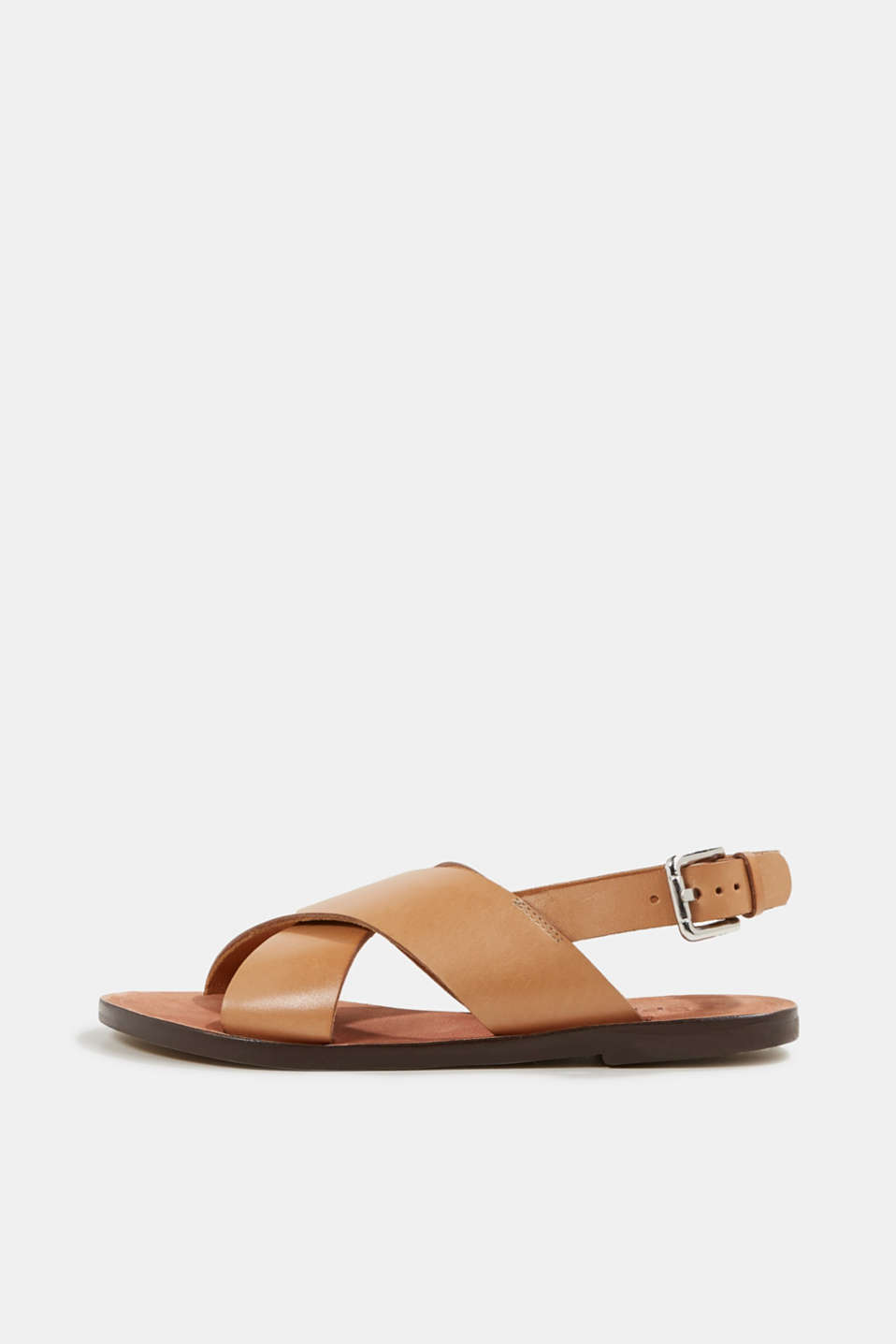 Esprit - Made of leather: strap sandals