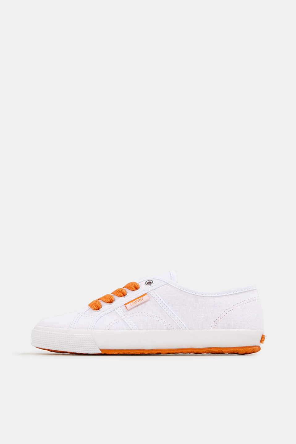 Esprit - Canvas trainers in a retro look