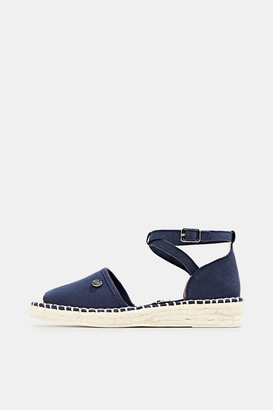Esprit - Canvas espadrille sandals