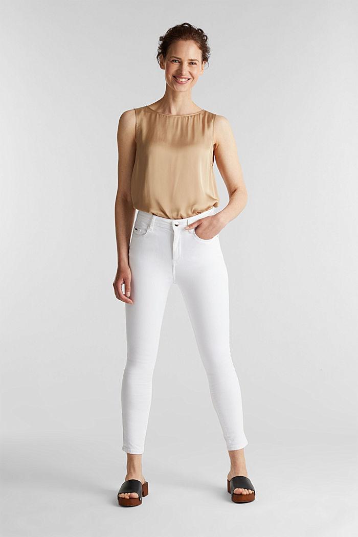 Knöchellange Jeans mit Details