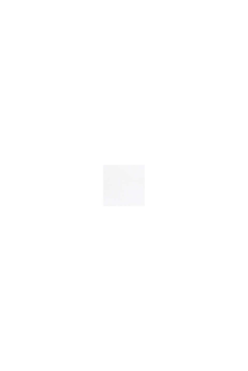 Nilkkapituiset bisneshousut satiinia, WHITE, swatch