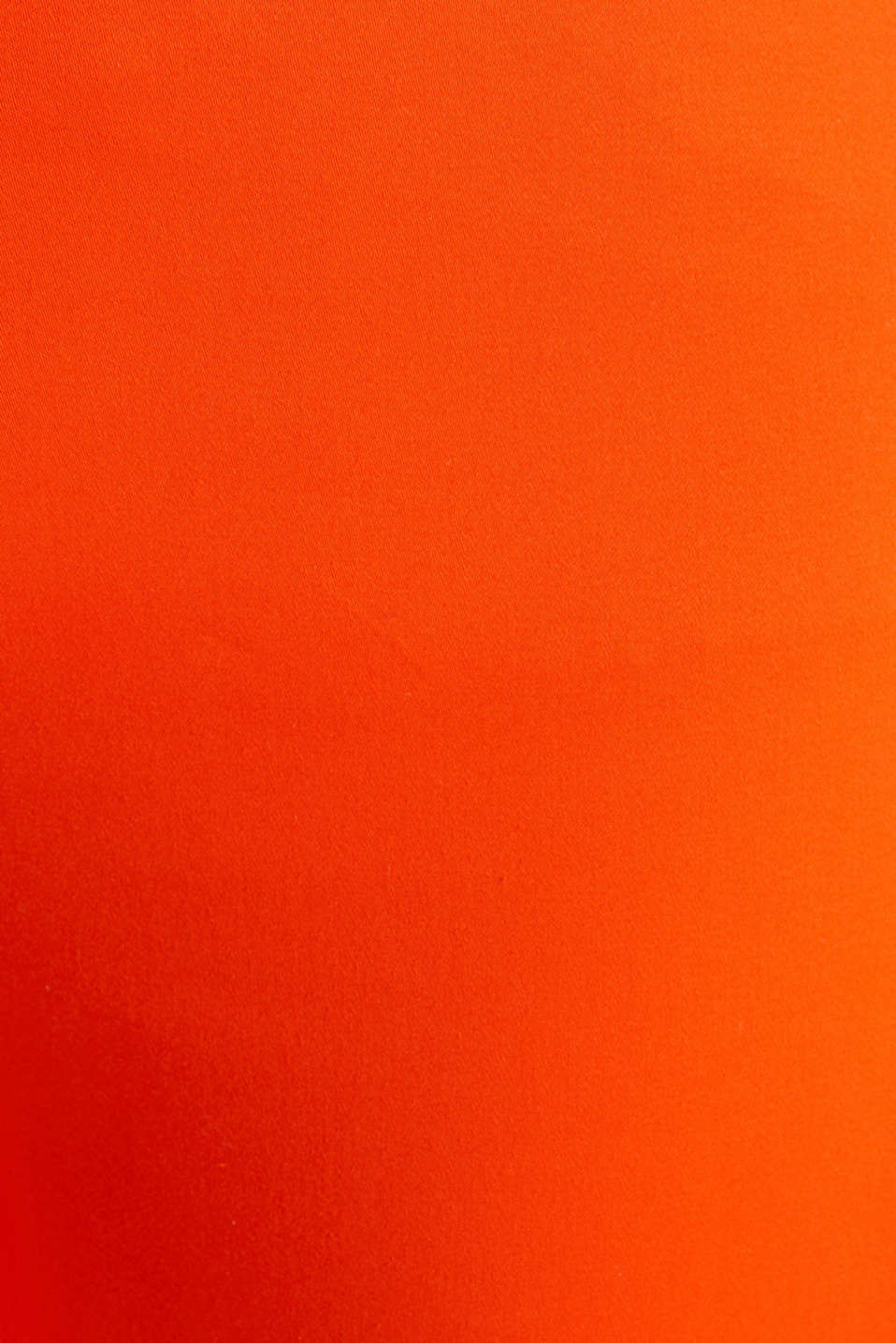 Knee-length satin business trousers, RED ORANGE, detail image number 4