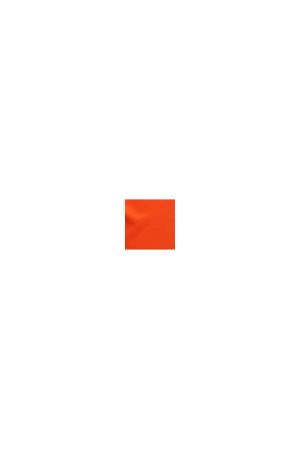 Nilkkapituiset bisneshousut satiinia, RED ORANGE, swatch