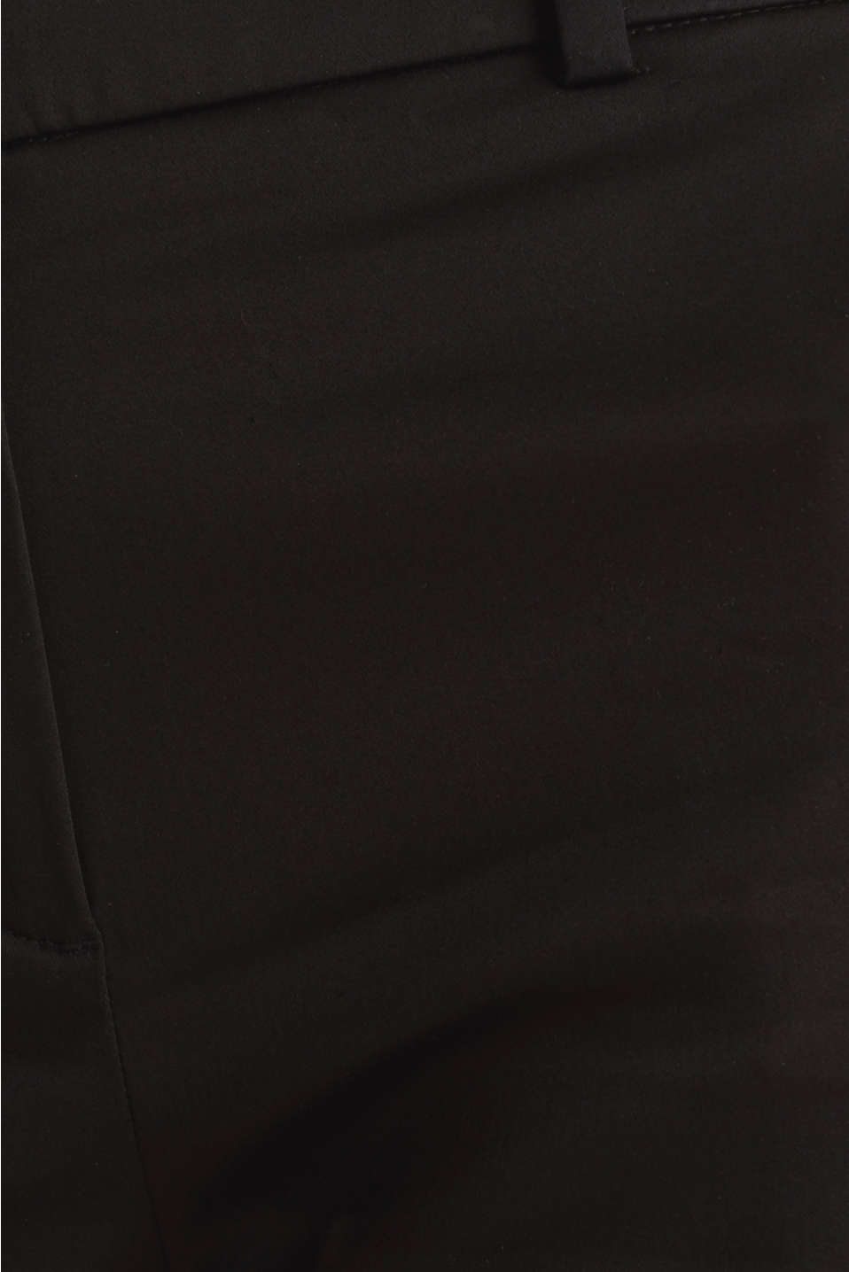 Stretchy satined Bermuda shorts, BLACK, detail image number 4