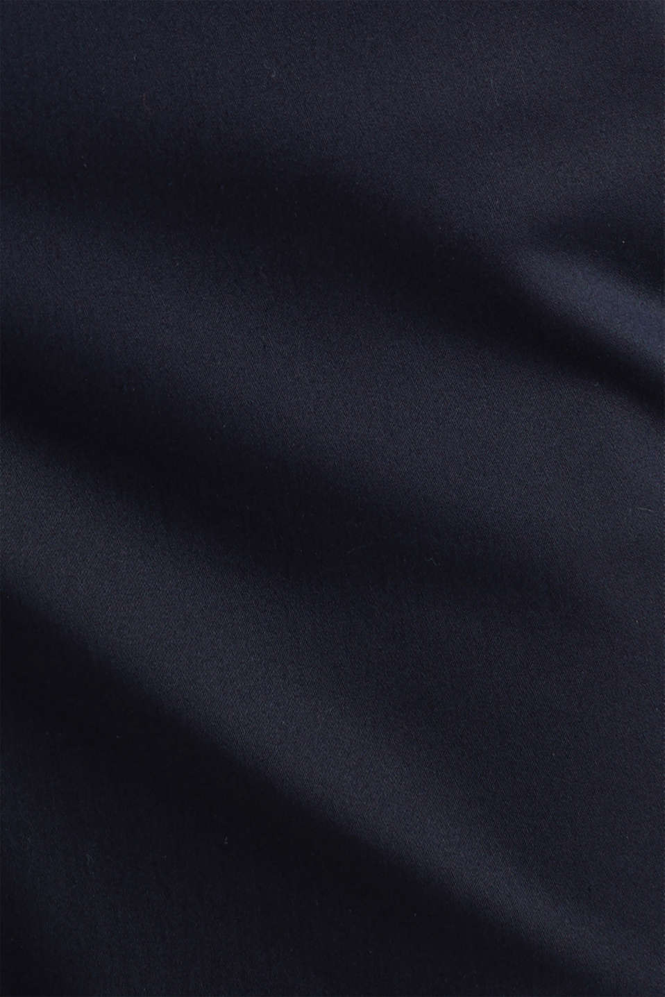 Stretchy satined Bermuda shorts, NAVY, detail image number 4
