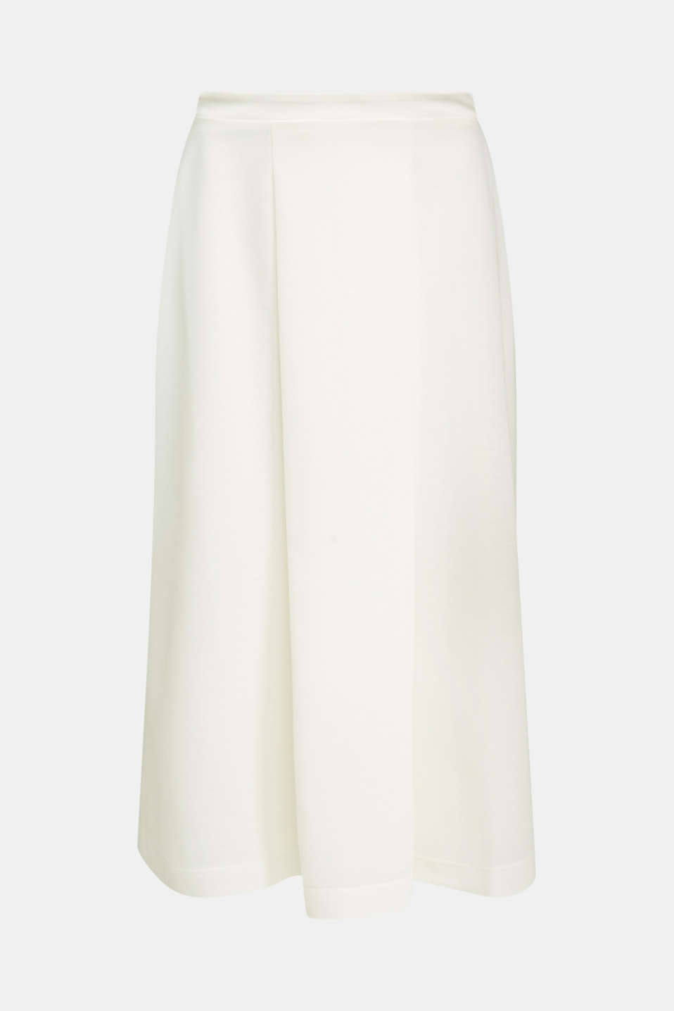 Piqué midi skirt, OFF WHITE, detail image number 4