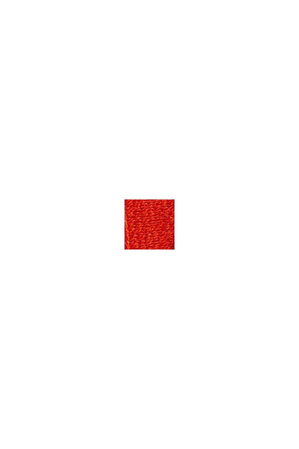 Bleistiftrock aus Spitze, RED ORANGE, swatch