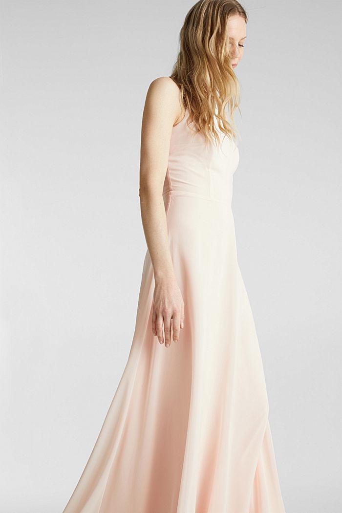 Reciclado: vestido con espalda de encaje, PASTEL PINK, detail image number 5