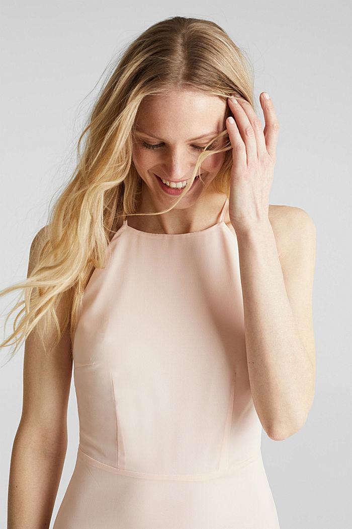 Reciclado: vestido con espalda de encaje, PASTEL PINK, detail image number 7