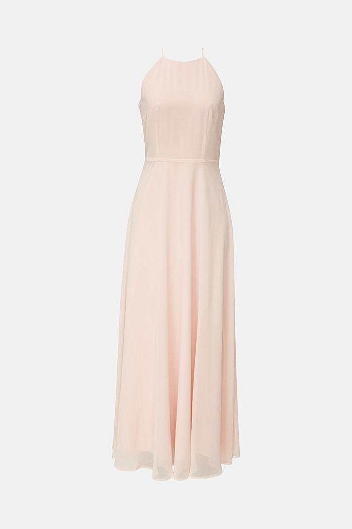 Reciclado: vestido con espalda de encaje, PASTEL PINK, detail image number 8