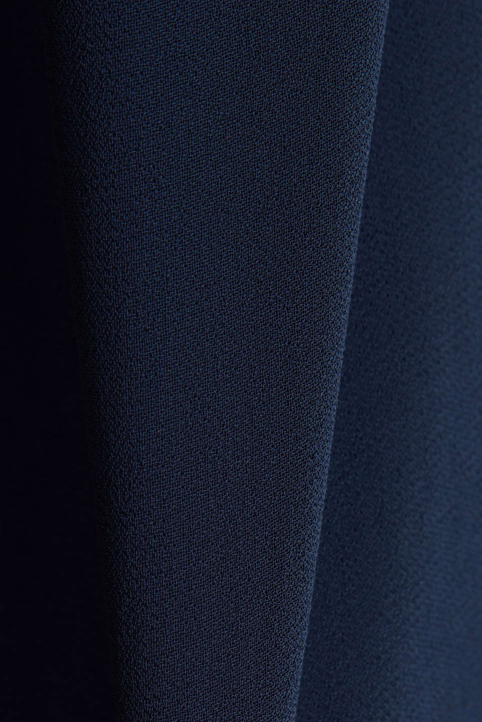Midi dress in crêpe chiffon, NAVY, detail image number 4