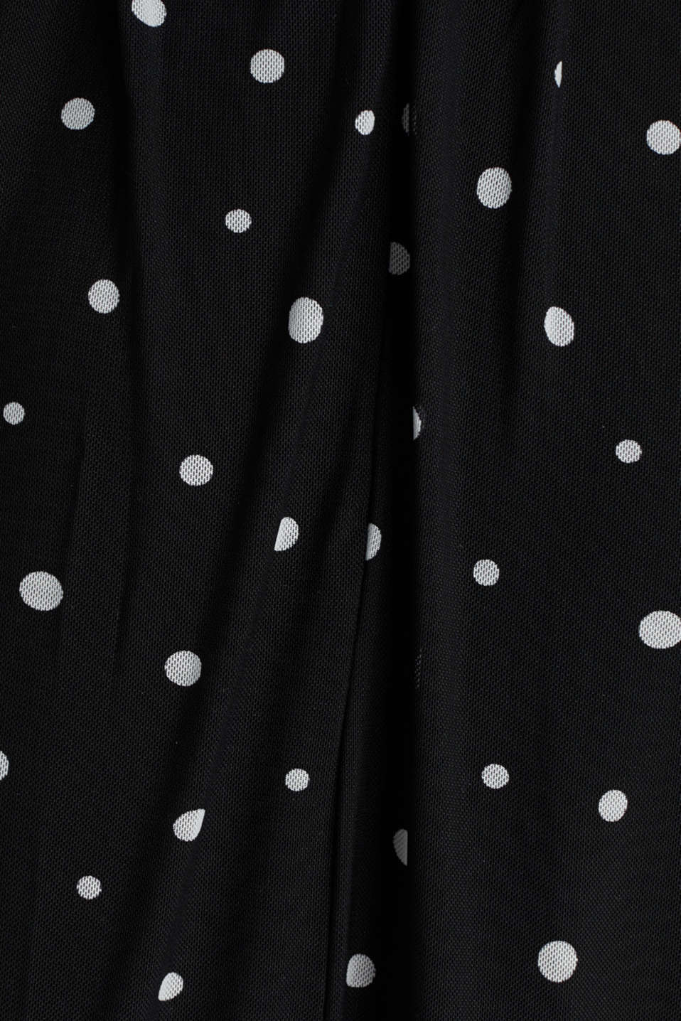 Mesh dress with an all-over print, BLACK 3, detail image number 3